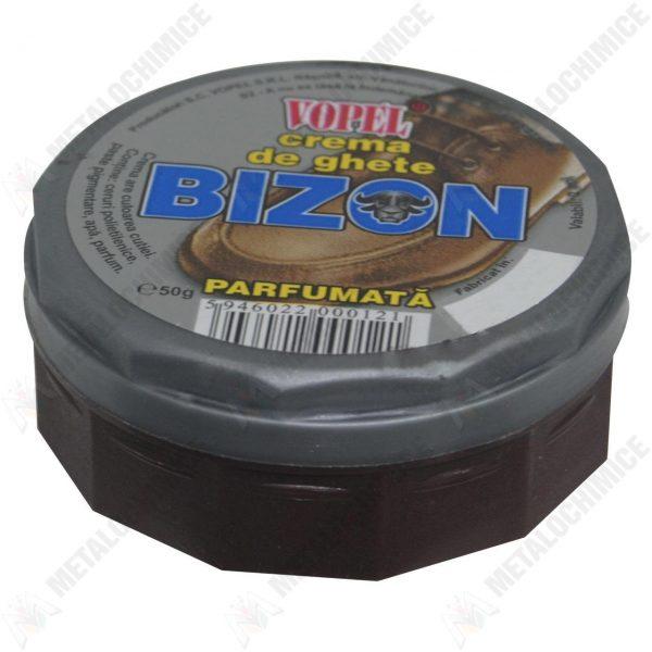 Bizon vopel crema de ghete maro