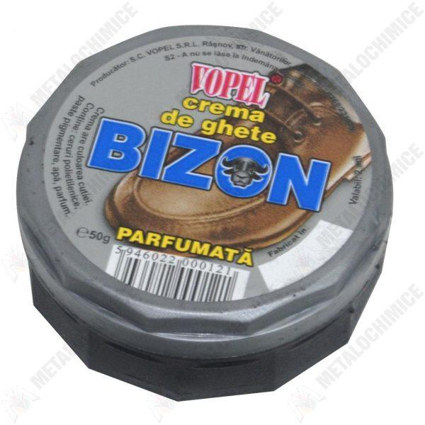 Bizon vopel crema de ghete neagra
