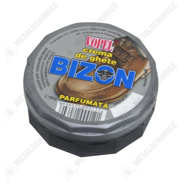 bizon vopel crema de ghete neagra 1