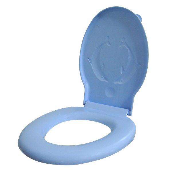 Capac wc bleu din plastic  din categoria Accesorii Baie