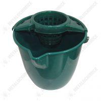 galeata mop 10 l cu storcator verde 1