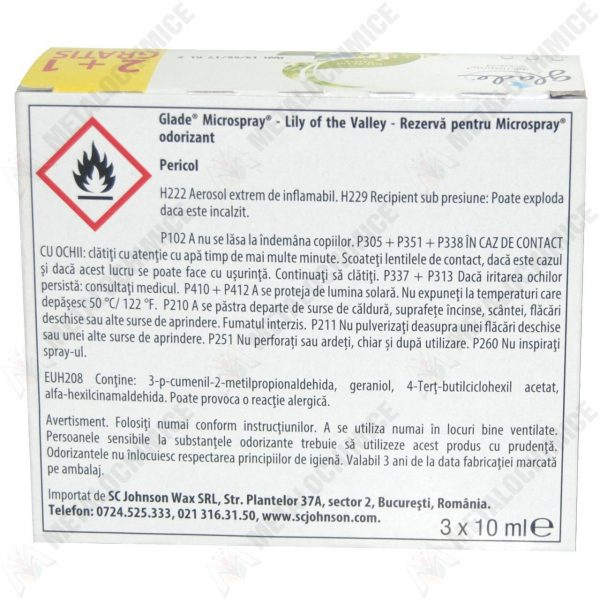 glade microspray aparat plus 2 rezerve lacrimioara 2