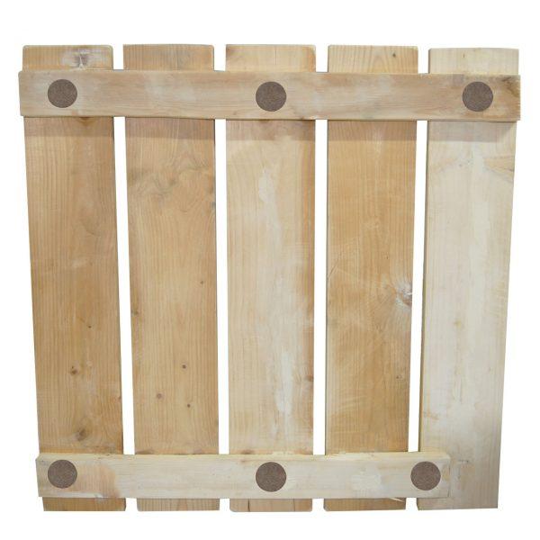 Gratar lemn pentru cabina dus