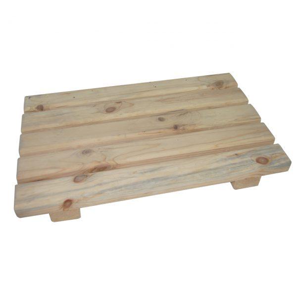 Gratar lemn baie