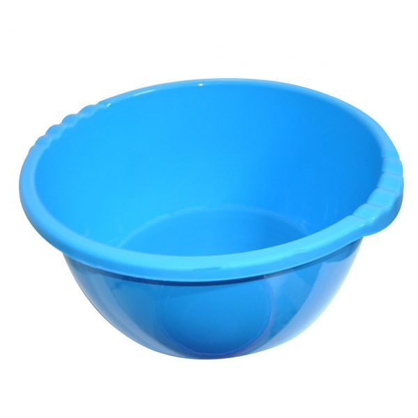 lighean plastic albastru 18 litri 2