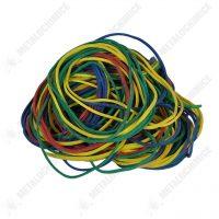 elastice de bani din cauciuc colorate 140 bucati 1