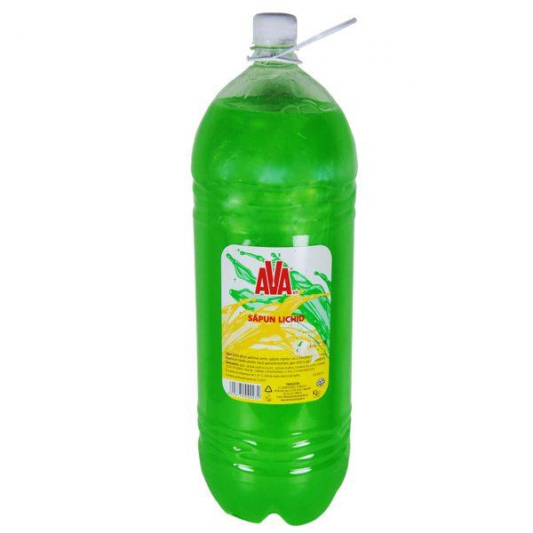 ava sapun lichid verde 2 l imagine 2