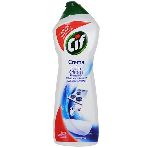 Cif Micro Cristale, Original, crema pentru baie si bucatarie, 750 ml
