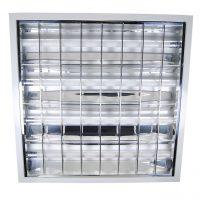 Corp neon LED 4x9W aplicat, IP21 lumina rece, 4 neoane incluse 60x60cm  din categoria Corpuri de iluminat