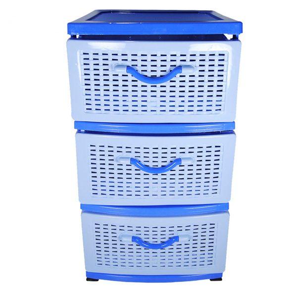 dulap depozitare plastic 3 sertare pentru bucatarie baie jucarii imagine 1