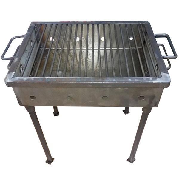 gratar-gradina-camping-portabil-tabla-neagra-62-42-cm-imagine-1