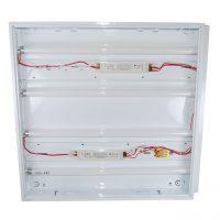 NOVElite Corp neon 4x18 incastrat IP40, 4 neoane incluse, 60x60cm, alb  din categoria Corpuri de iluminat
