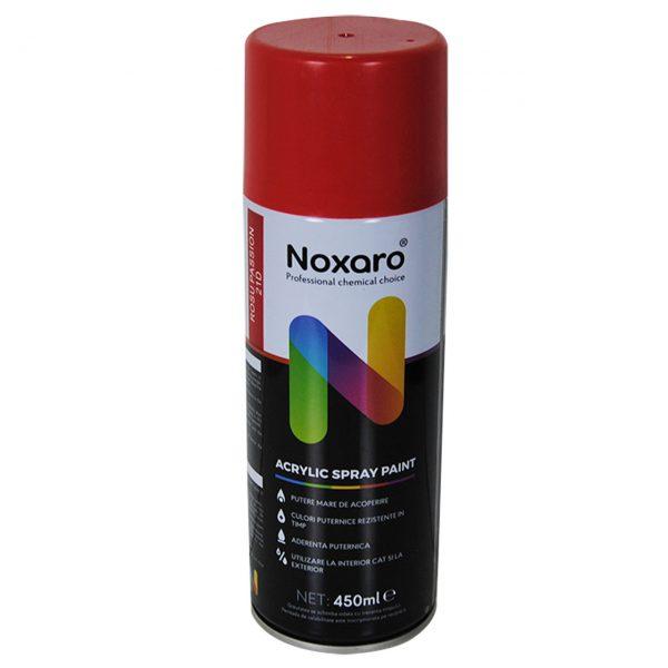 noxaro-vopsea-spray-acrilica-pentru-lemn-metal-rosu-450-ml-imagine-1
