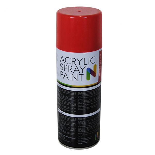 noxaro-vopsea-spray-acrilica-pentru-lemn-metal-rosu-450-ml-imagine-2