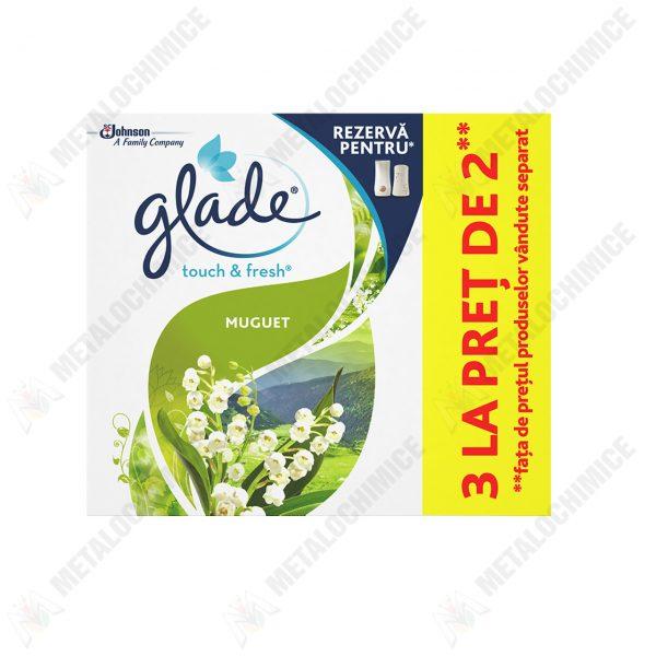 glade touch fresh muguet rezerva odorizant 3x10 ml 1