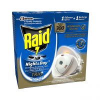 raid aparat tantari muste si furnici night and day trio cu rezerva lichid imagine 1