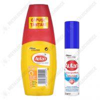 Autan Protection Plus Lotiune repelent tantari capuse 100 ml si Lotiune pentru tratarea intepaturilor 25 ml imagine 1