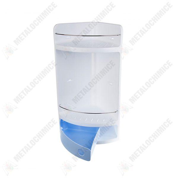 Coltar baie cu sertar albastru