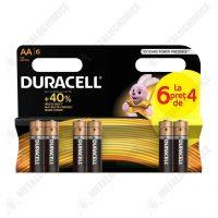 Duracell Duralock Baterii alcaline AA 2500 mah, LR6, 6 buc  din categoria Baterii Aacaline