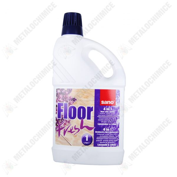 Sano Floor Fresh 1L lavanda si liliac  din categoria Solutii pentru pardoseli si covoare