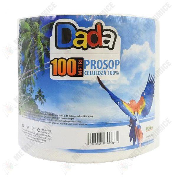 DaDa Prosop hartie celuloza 2 straturi rola 100 m 1