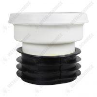 manson wc rigid drept pentru scurgere 110 mm 2