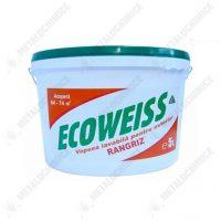 Rangriz Ecoweiss Vopsea lavabila de exterior, alba, 5 L  din categoria Vopsea Lavabila