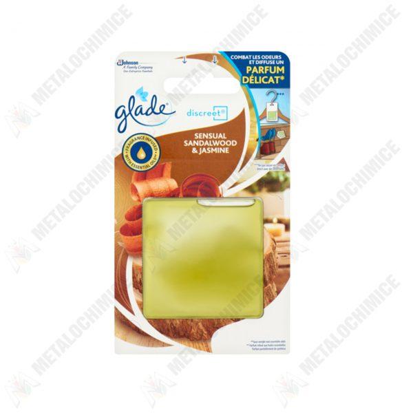 glade discreet odorizant de camera sensual sandalwood jasmine 8g 1