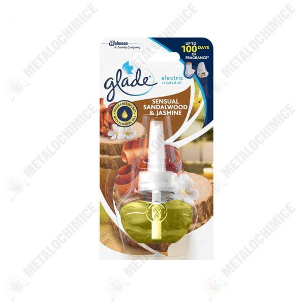 glade electric scented oil rezerva sensual sandalwood jasmine 20 ml 1