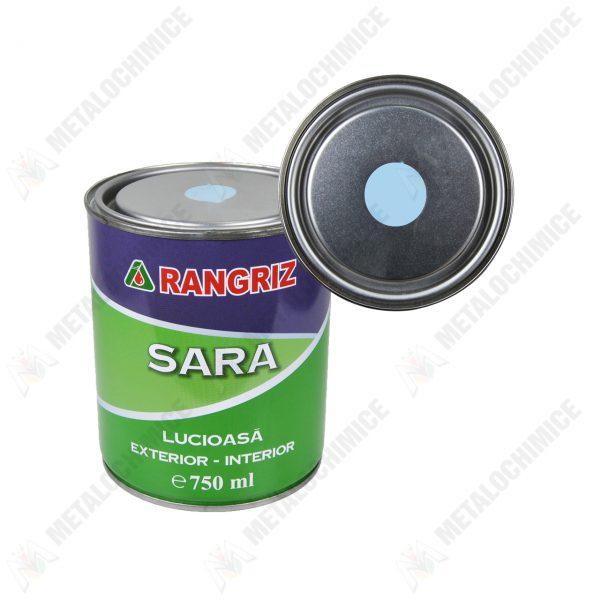 rangriz sara vopsea lucioasa pentru lemn pereti interior bleu 750 ml 1