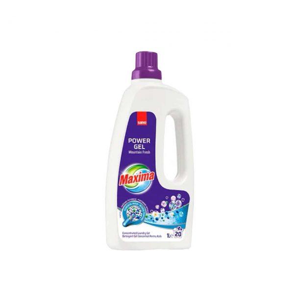sano maxima power gel mountain fresh detergent rufe concentrat 1l 20sp 1