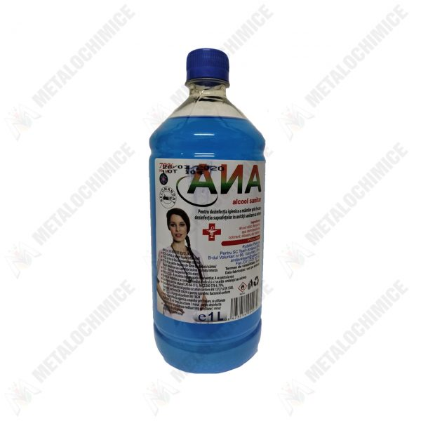 ANA Spirt Alcool sanitar 70 grade 1L