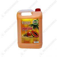 Cloret Sapun lichid 5l cu ulei de masline mango si papaya 2