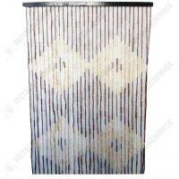 Perdea usa din margele de bambus 90x180 cm 1