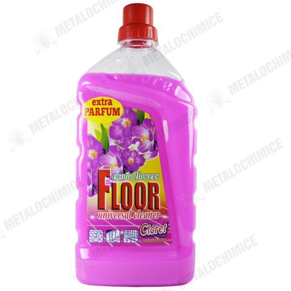 Cloret Detergent pentru pardoseli cu parfum exotic 1L