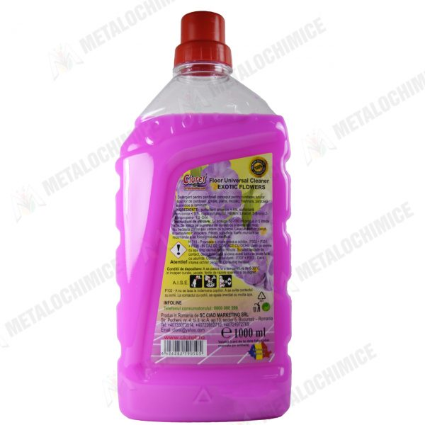Cloret Detergent pentru pardoseli cu parfum exotic 1L 1