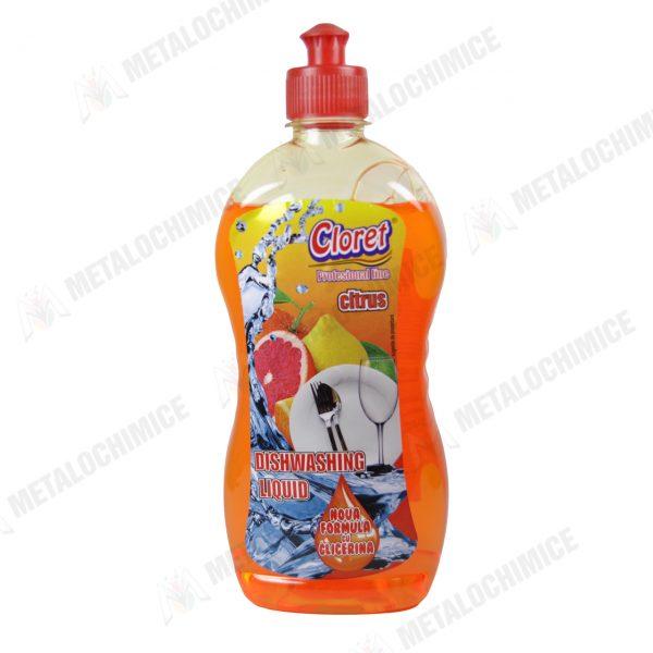 Cloret Detergent vase aroma de citrice 500ml 1