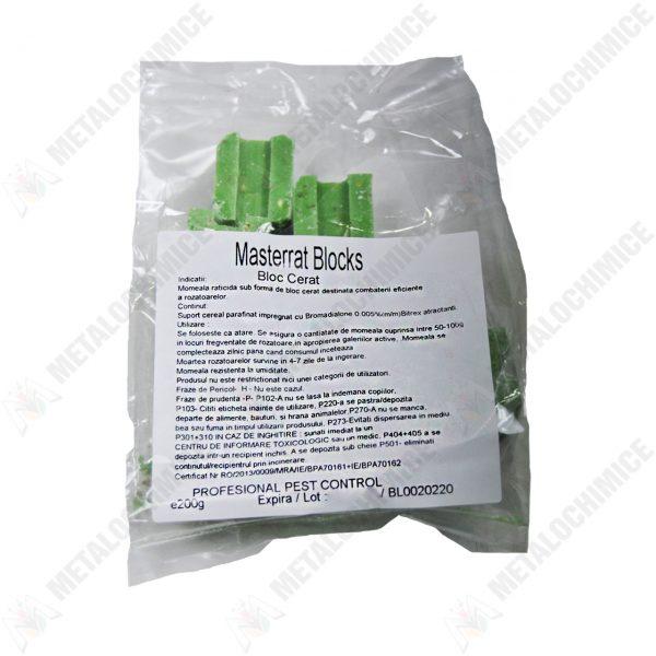 Otrava sobolani bloc cerat verde Masterrat 200g