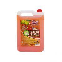 cloret detergent lichid parchet cu parfum de citrice 5l 1