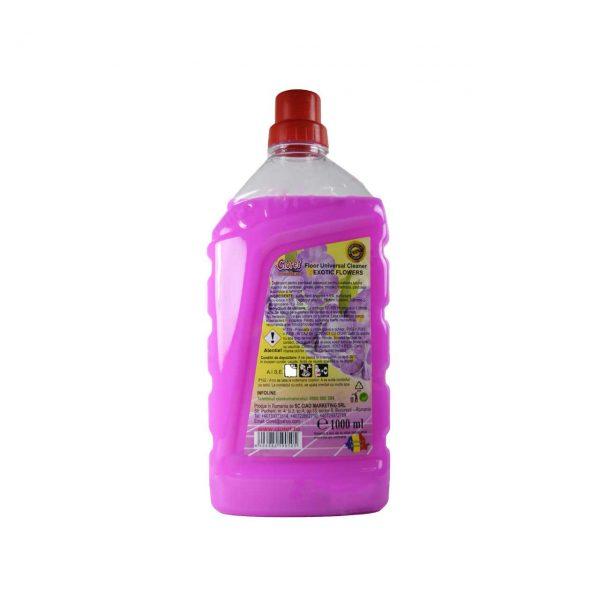 cloret detergent pentru pardoseli cu parfum exotic 1l 2