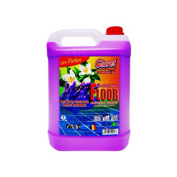 cloret floor detergent pardoseli 5l lavender si jasmine 1