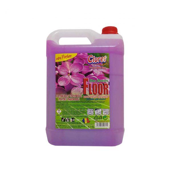 cloret floor detergent pardoseli exotic flowers 5 l 1