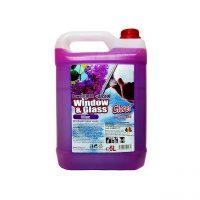 cloret solutie geamuri cu alcool liliac 5l 1