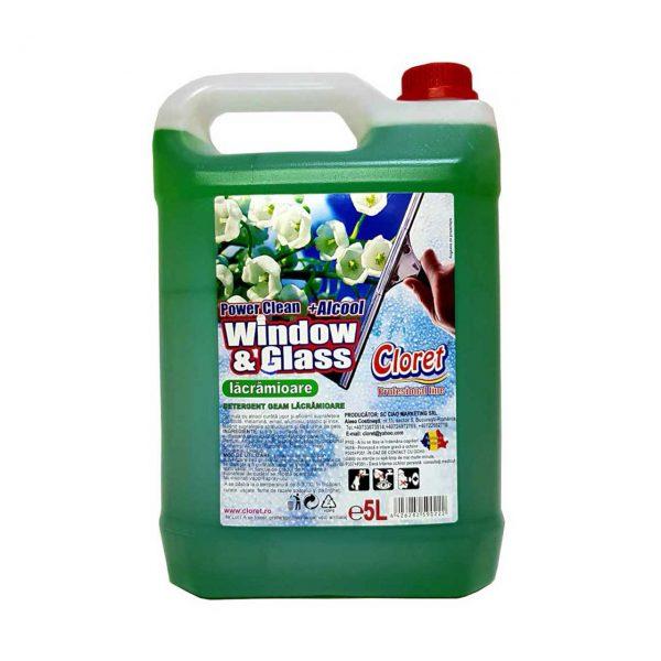 cloret solutie geamuri profesionala lacramioare 5l 2