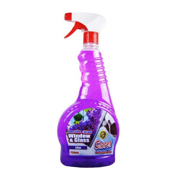 cloret solutie spalat geamuri liliac 750ml 2