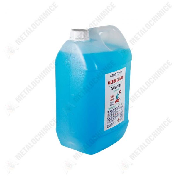 gerocossen ultra clean gel igienizant maini 70 alcool 5l 2