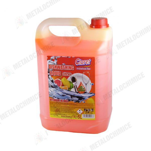 Detergent vase profesional Cloret Citrus 5 L