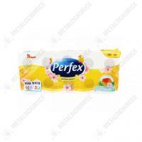 Hartie igienica Perfex 3 straturi 10 role Peach