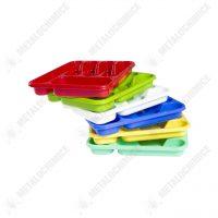 Suport tacamuri plastic sertar albastru 2