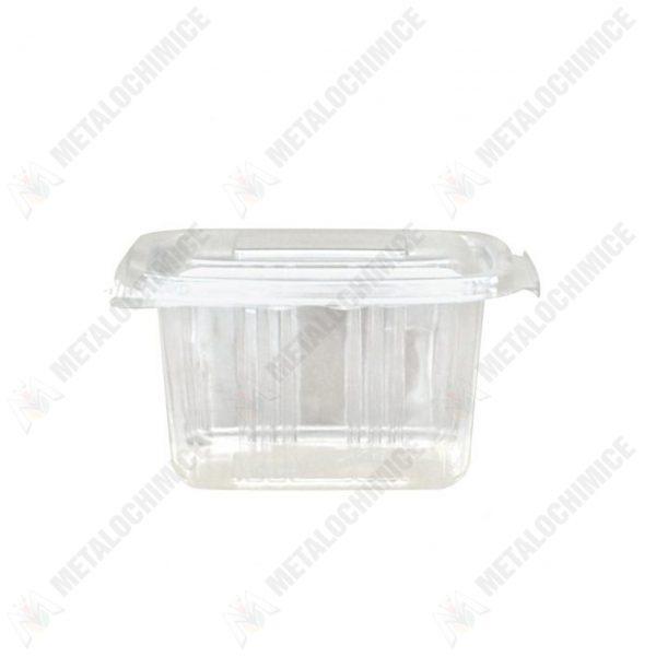 caserole plastic unica folosinta 500 g cu capac 100 bucati 2